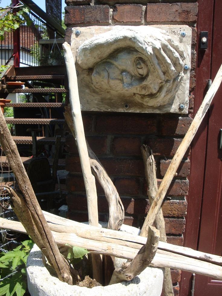 sculpture garden esther's relief   EH